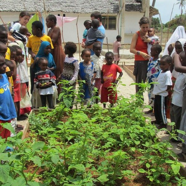 Huerto para la ONG Afrikable en Kenia